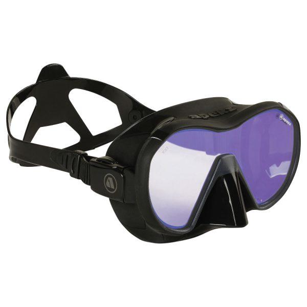 Apeks VX1 Mask in black with UV lens
