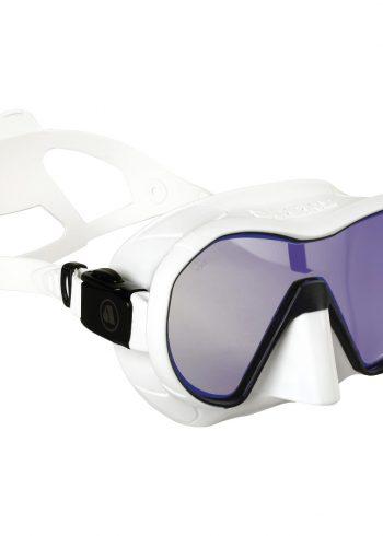 Apeks VX1 Mask in white with UV lens